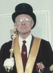 Anthony R. Wheeler May 18th 1999 Mayor Making Ceremony at Sudbury Town Hall
