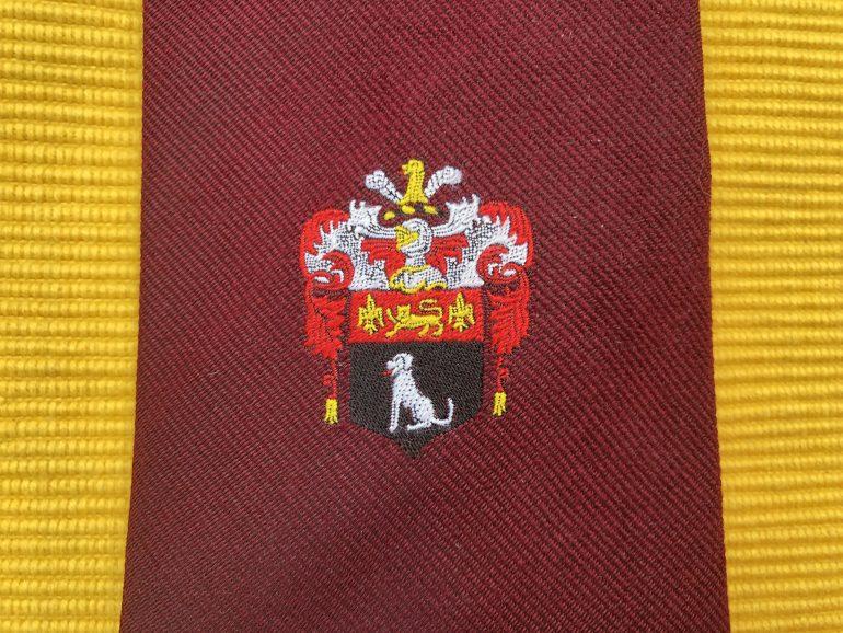 Sudbury Freemen's Society tie motif
